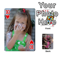 Cards By Kelly Hearn   Playing Cards 54 Designs   Pxmlsm7hezka   Www Artscow Com Front - Heart10