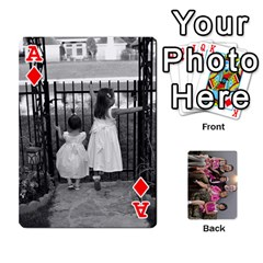 Ace Cards By Kelly Hearn   Playing Cards 54 Designs   Pxmlsm7hezka   Www Artscow Com Front - DiamondA
