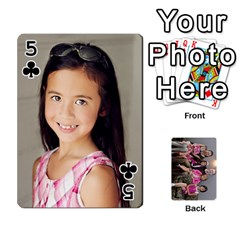 Cards By Kelly Hearn   Playing Cards 54 Designs   Pxmlsm7hezka   Www Artscow Com Front - Club5