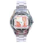 with love - Stainless Steel Analogue Men's Watch