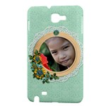 Samsung Galaxy Note Hardshell Case- Flowers - Samsung Galaxy Note Hardshell Case