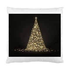 Christmas Tree Sparkle Jpg Twin Sided Cushion Case by tammystotesandtreasures