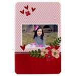 Kindle Fire Hardshell Case- Hearts and Flowers