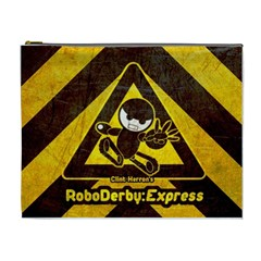 Roboderby:express (xl) By Karsten   Cosmetic Bag (xl)   Ut7c5qrzt6v4   Www Artscow Com Front
