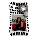 Black and White Samsung Galaxy Ace S5830 hardshell - Samsung Galaxy Ace S5830 Hardshell Case