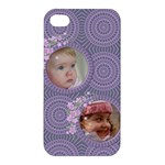 Mauve Apple iPhone 4/4S Hardshell Case