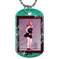 Emma Recital 2012 By Elise Hubka   Dog Tag (two Sides)   I8jhpykfd5m9   Www Artscow Com Back
