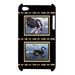 Black and Gold Apple iPod Touch 4G Hardshell Case
