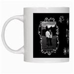 Black white love White Mug