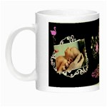 Baby girl frill Night Luminous Mug