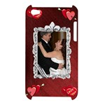 Roayal Red I love you Apple ipod Touch 4G Hardshell Case