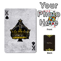 King Fallout   Ultra Luxe Deck By Casualtv   Playing Cards 54 Designs   V5s4xewluy6x   Www Artscow Com Front - SpadeK