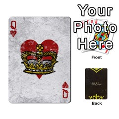 Queen Fallout   Ultra Luxe Deck By Casualtv   Playing Cards 54 Designs   V5s4xewluy6x   Www Artscow Com Front - HeartQ