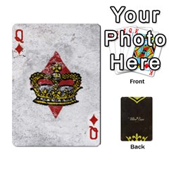 Queen Fallout   Ultra Luxe Deck By Casualtv   Playing Cards 54 Designs   V5s4xewluy6x   Www Artscow Com Front - DiamondQ