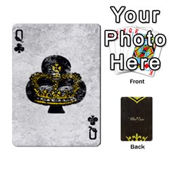 Queen Fallout   Ultra Luxe Deck By Casualtv   Playing Cards 54 Designs   V5s4xewluy6x   Www Artscow Com Front - ClubQ