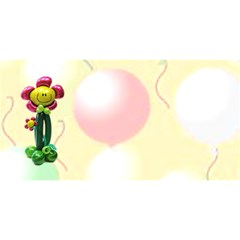 Invite Party By Malky   Party 3d Greeting Card (8x4)   Cdx2csfxh79g   Www Artscow Com Back