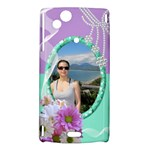 Floral Sony Ericsson xperia Arc hardshell Case - Sony Xperia Arc Hardshell Case