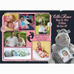 Ella4 By Shannon Luft   5  X 7  Photo Cards   V7rqlqy6uymw   Www Artscow Com 7 x5 Photo Card - 2