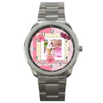 pink world - Sport Metal Watch