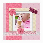 pink world - Medium Glasses Cloth