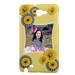 Samsung Galaxy Note Hardshell Case-Accordion Flowers - Samsung Galaxy Note 1 Hardshell Case