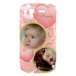 Girl HTC Desire S hardshell Case