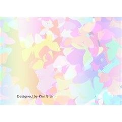 Butterfly Birthday By Kim Blair   Birthday Cake 3d Greeting Card (7x5)   K9qdxb673c9l   Www Artscow Com Back