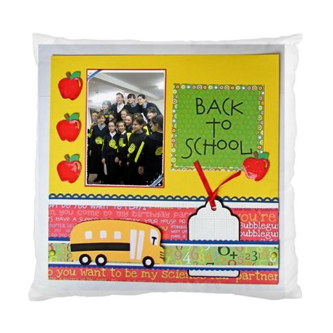 Class Cushion By Malky   Standard Cushion Case (one Side)   S76mslh3t6v5   Www Artscow Com Front
