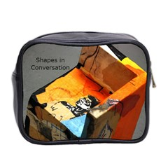 Shapes By Naday   Mini Toiletries Bag (two Sides)   Qmqxeeozrtrl   Www Artscow Com Back