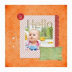 Hello By Joely   Medium Glasses Cloth (2 Sides)   J7o2twga0p7a   Www Artscow Com Front