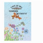 Summer Large Garden Flag - Large Garden Flag (Two Sides)