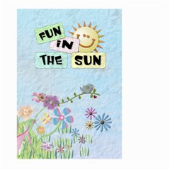 Summer Large Garden Flag by Lil Back