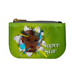 Super Star By Divad Brown   Mini Coin Purse   U5mro3nxfedh   Www Artscow Com Front