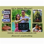 Save the Date Final - 5  x 7  Photo Cards