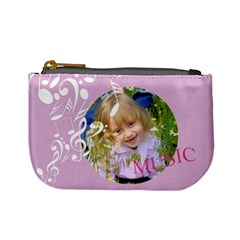 Music By Divad Brown   Mini Coin Purse   H3tk9dcx4b08   Www Artscow Com Front
