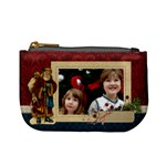Christmas traditions/santa- mini coin purse
