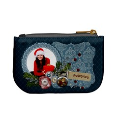 Christmas Traditions/santa  Mini Coin Purse By Mikki   Mini Coin Purse   Zfn9ggxzoltg   Www Artscow Com Back