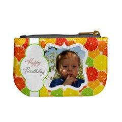 Happy Brithday By Divad Brown   Mini Coin Purse   O7er1k9ztgeh   Www Artscow Com Back