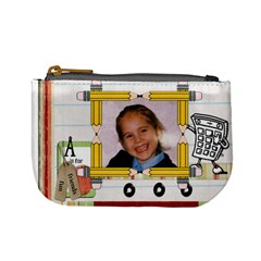 School Dinnner Purse By Malky   Mini Coin Purse   8exjxmzi59e8   Www Artscow Com Front