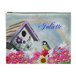 Flower Garden Cosmetic Bag XL - Cosmetic Bag (XL)