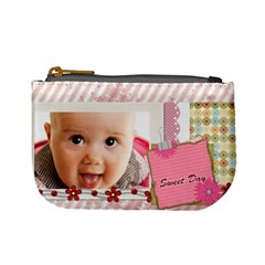 Sweet Day By Joely   Mini Coin Purse   T2ip2m7sm6ss   Www Artscow Com Front
