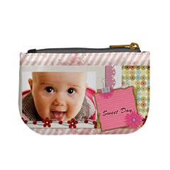 Sweet Day By Joely   Mini Coin Purse   T2ip2m7sm6ss   Www Artscow Com Back
