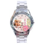sweet day - Stainless Steel Analogue Men's Watch