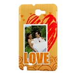 love - Samsung Galaxy Note 1 Hardshell Case