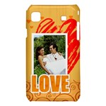 love - Samsung Galaxy S i9008 Hardshell Case