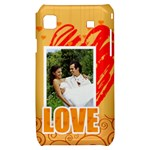 love - Samsung Galaxy S i9000 Hardshell Case