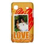 love - Samsung Galaxy SL i9003 Hardshell Case