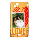 love - Sony Xperia Arc Hardshell Case
