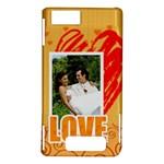 love - Motorola Droid X / X2 Hardshell Case