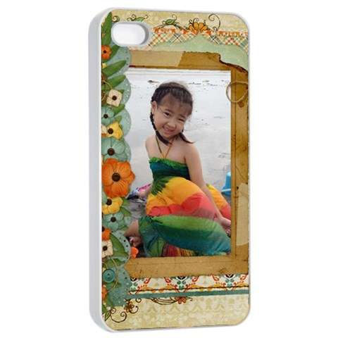 T Case By Thaneenard   Apple Iphone 4/4s Seamless Case (white)   2skewzxxbxt8   Www Artscow Com Front